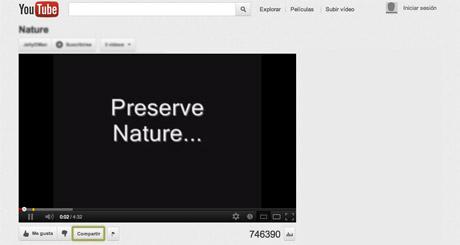 insertar un vídeo de youtube en tu página web