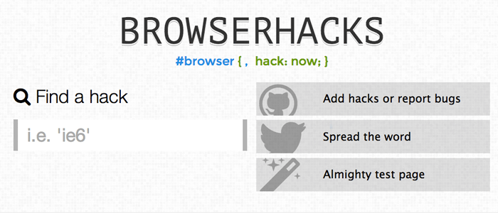Browser Hacks
