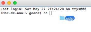 Instalar Gulp para trabajar con PostCSS