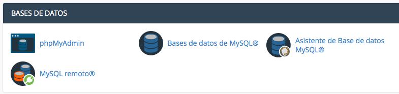 phpMyadmin servidor web