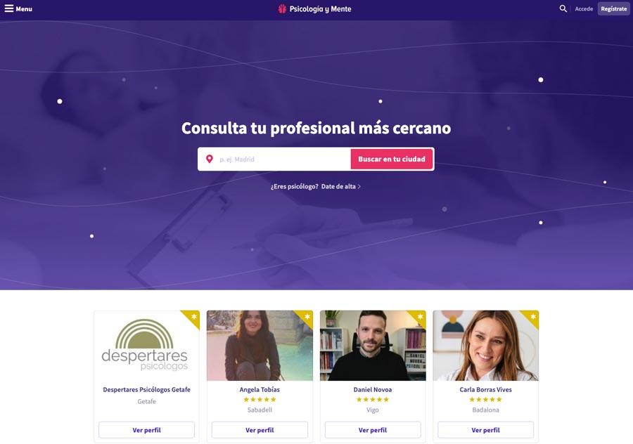 Ejemplo de sitio web educativo
